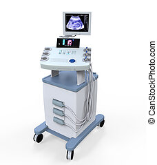ultraschall, medizin, machi, diagnostisch