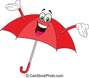 Umbrella Cartoon.