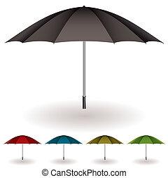 Umbrella farbenfrohe Sammlung