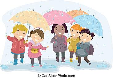Umbrella-Kinder