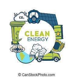 umwelt, mülltrennung, energie, verschwendung, grün, sauber