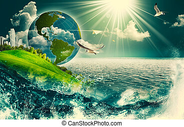 Umwelt- und Umwelthintergründe für Ihr Design abschaffen