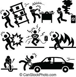 unglück, explosion, risiko, gefahr