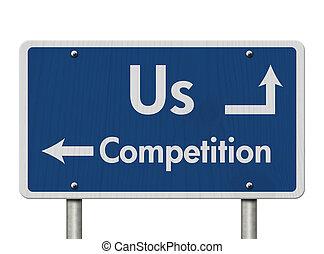 Unterschiede zwischen uns und der Konkurrenz.