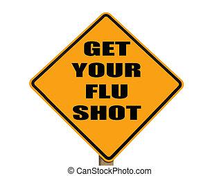 Unterschreiben Sie, damit jeder seinen Grippeimpf bekommt