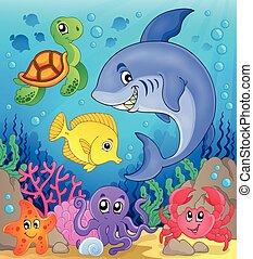 Unterwasser Ocean Fauna 6.