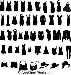 Unverzeihliche Frauenkleider-Silho