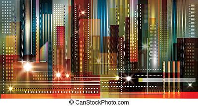 Urban Cityscape Hintergrund.