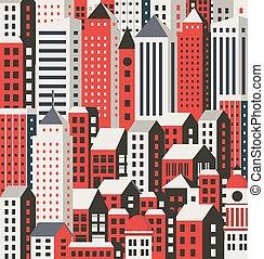 Urbaner Hintergrund