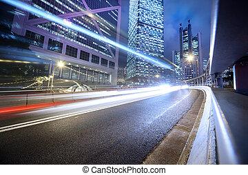 Urbaner Transport Hintergrund