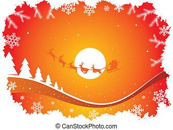 Urlaub mit Santa