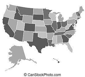 US-Karte