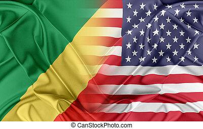 USA und Republik der Congo
