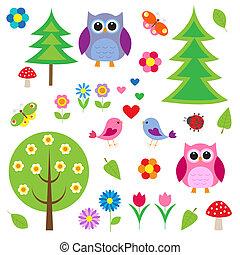 Vögel, Zauber und Eulen