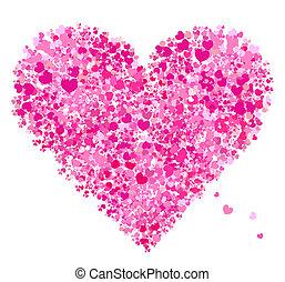 Valentine-Herzform, Liebes