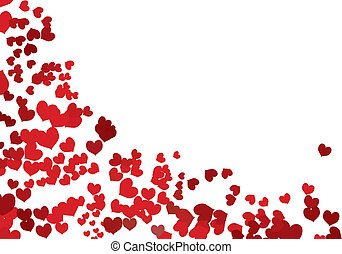 Valentine Hintergrund mit Platz für deine SMS