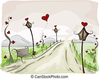 Valentine-Szene