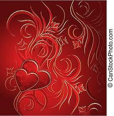 Valentines Hintergrund.