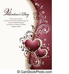 Valentines Hintergrund