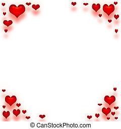 Valentins-Liebesnote