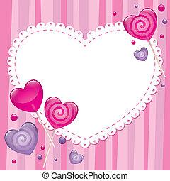 Valentinsgrußkarte
