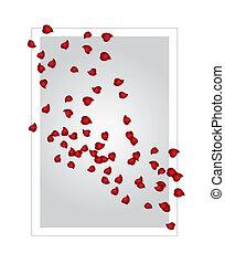 Valentinskarte (Vector)