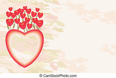 Valentinskarte.