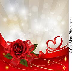 Valentinstags-Hintergrund.