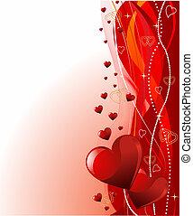 Valentinstagshintergrund.