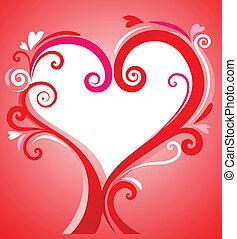 Valentinstagsrahmen