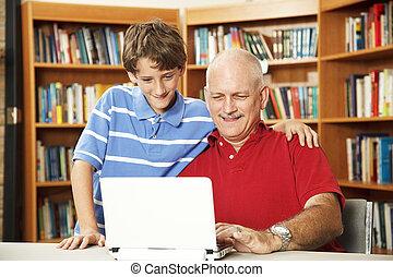 Vater und Sohn online