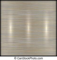 Vector abstrakt gebürstet Metall Textur Hintergrund.