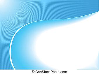 Vector abstrakter blauer Hintergrund.