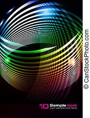 Vector abstraktes Design