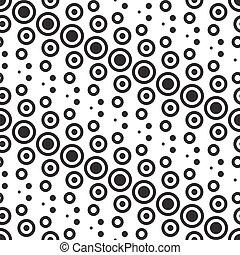 Vector abstraktes monochromes geometrisches Muster.