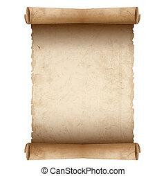 Vector alter Schriftrolle