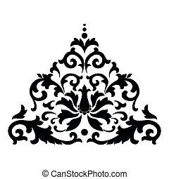 Vector asianisches Ornamente.