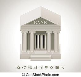 Vector Bank icon