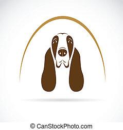 Vector-Bild eines Bastelhundes