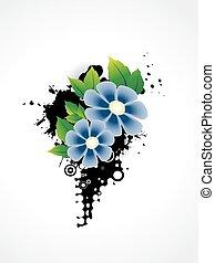 Vector-Blume-Kunststoff.