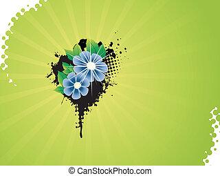 Vector-Blumen-Künstler