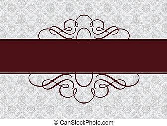 Vector Burgundy-Bandrahmen