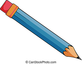 Vector Cartoon Bleistift
