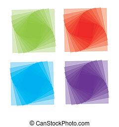 Vector Cartoon-Stil Icon Set