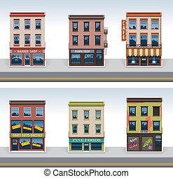 Vector City Building Icon Set