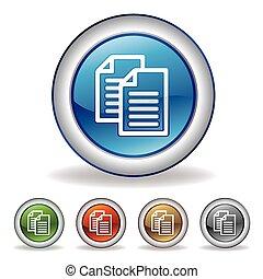 Vector Dokument icon