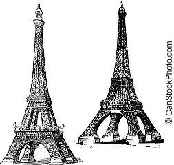 Vector Eiffelturm