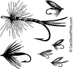 Vector-Fischerei-Set