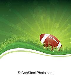 Vector Football Hintergrund