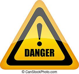 Vector Gefahrzeichen
